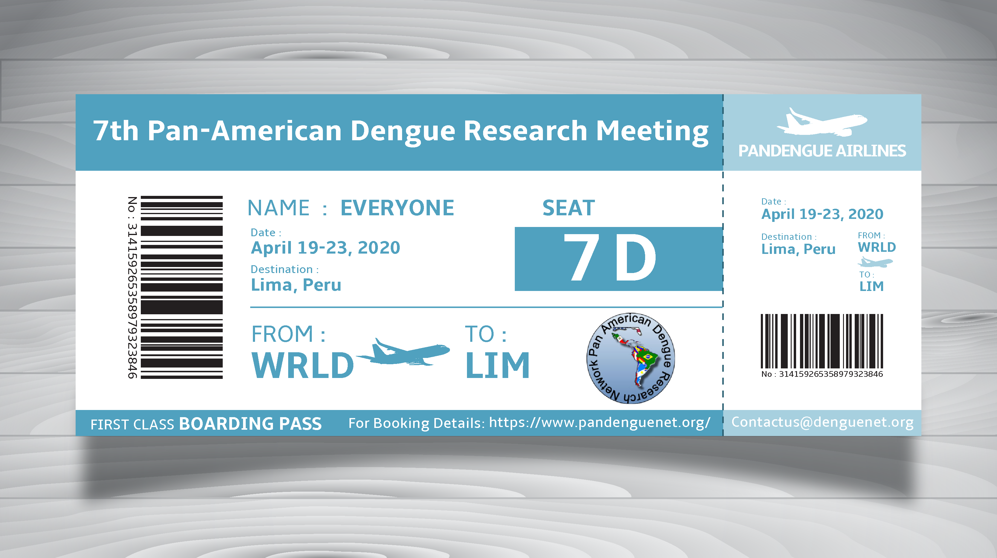 Pan American Dengue Research Network – Lima, Peru 2020